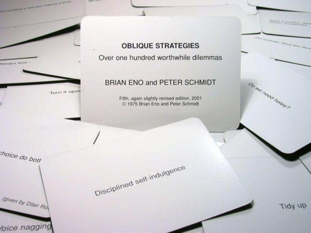 ObliqueStrategiesDeck