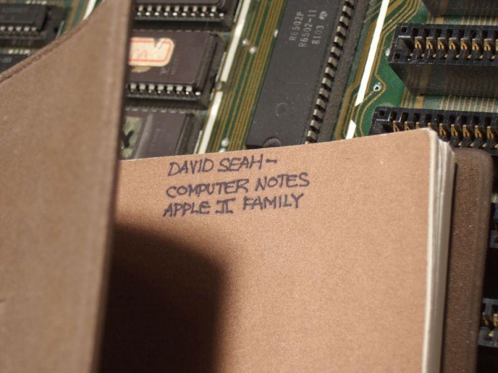 MySecretAppleIINotebook
