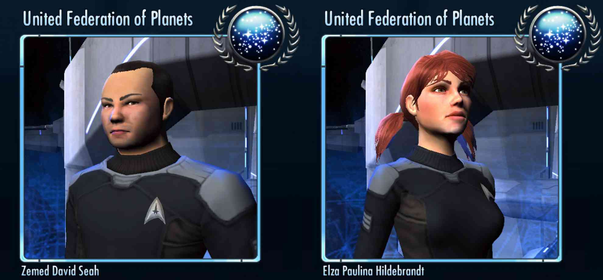 Characters from Star Trek Online