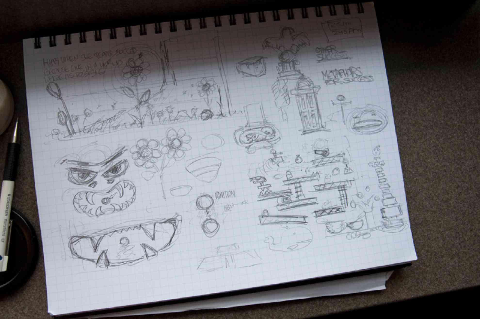 Sketching,PartII