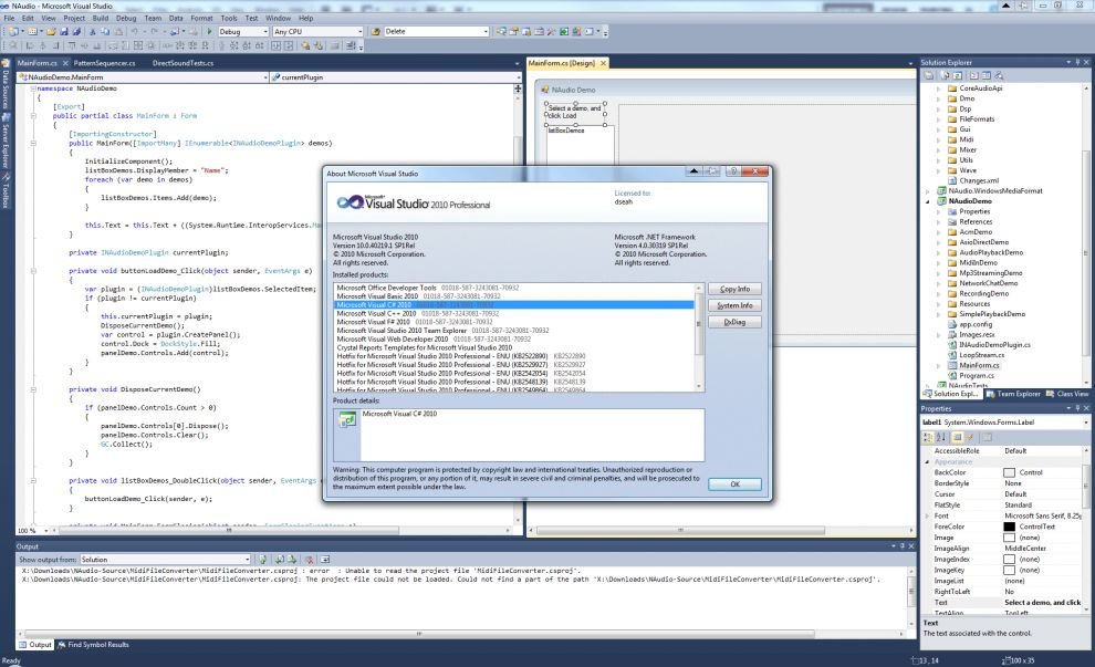 MicrosoftVisualStudio2010