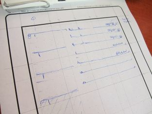 Wireframe iPad Template Sketch