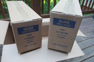 Uline Boxes - Two Kinds!