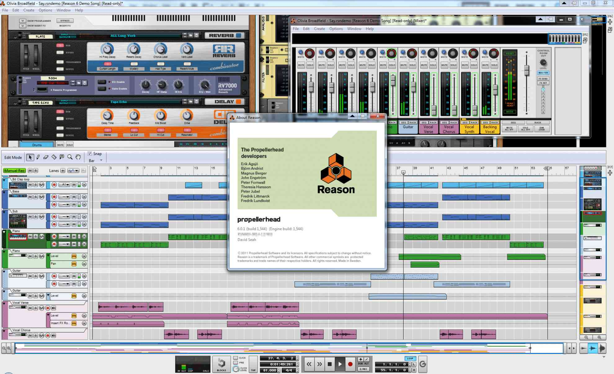 Reason 6 by Propellerhead Software