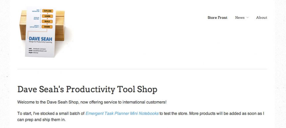 New Productivity Tools Store!