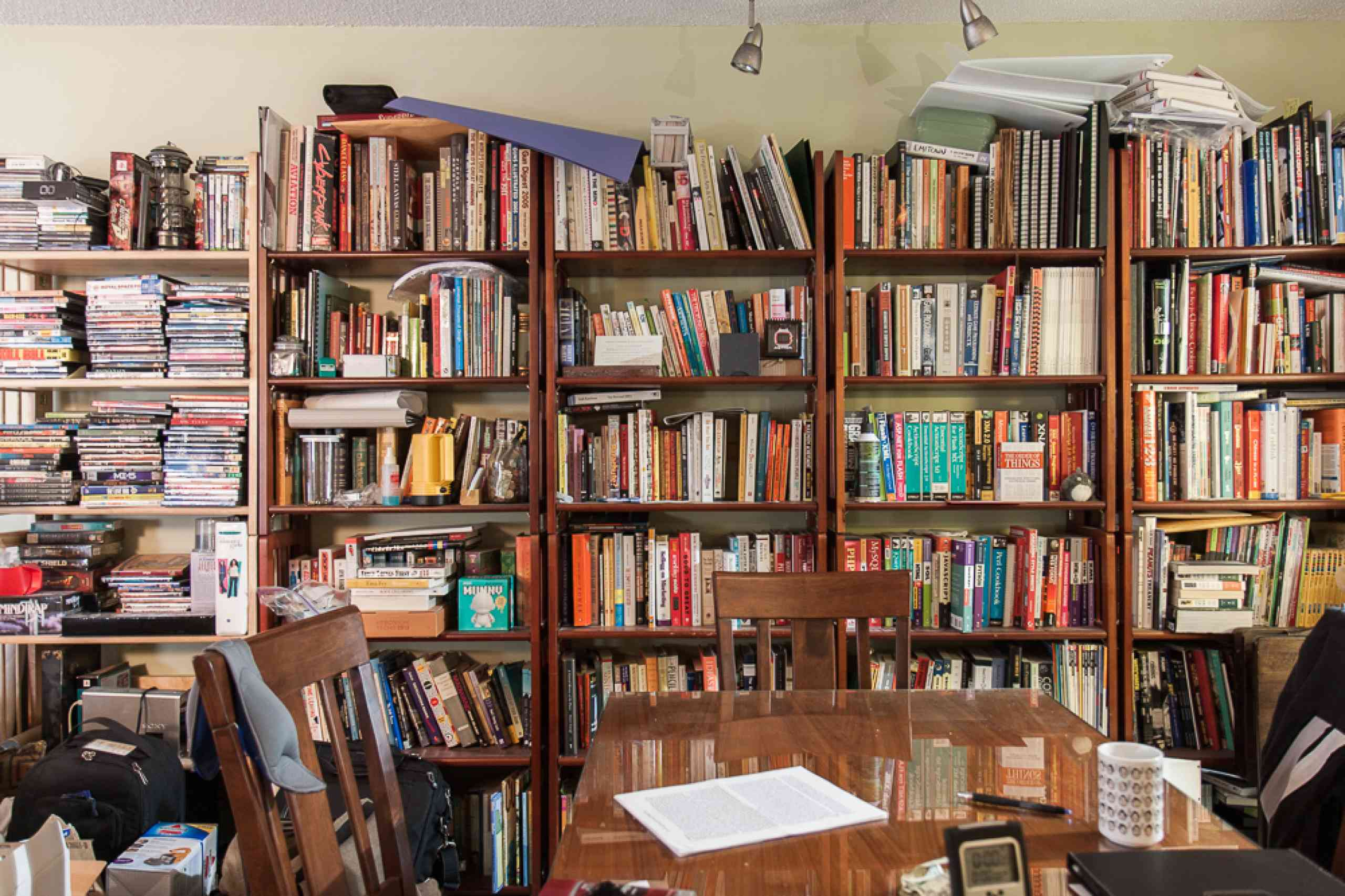 My bookshelves need a makeover