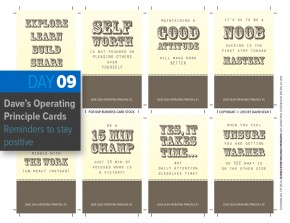Operating Principle Cards