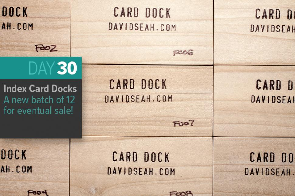 Index Card Docks