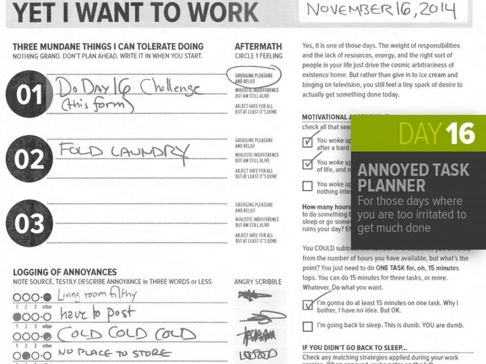 "��""Nov 16: Annoyed Task Planner"