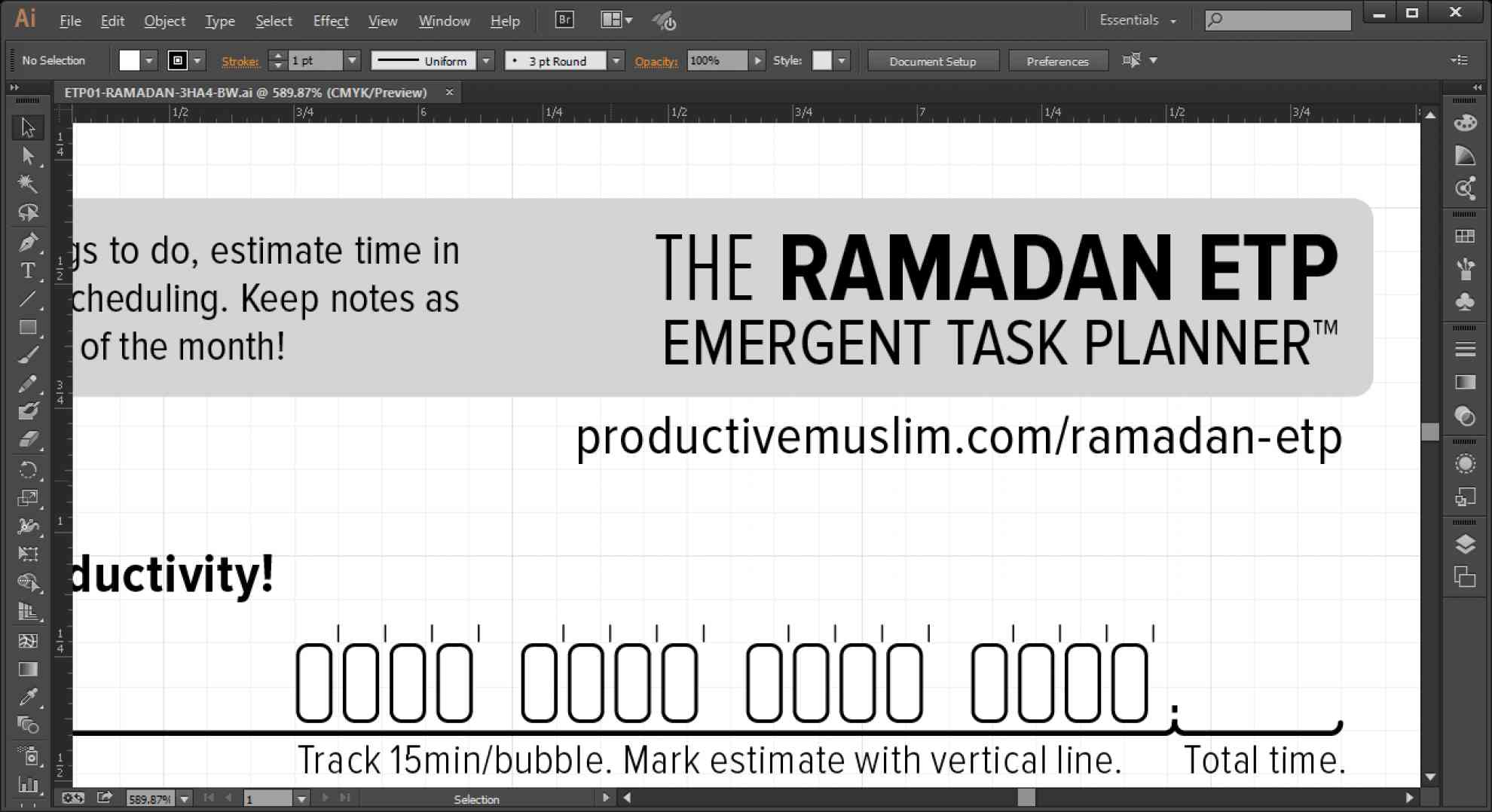 TheRamadanETPincooperationwithProductiveMuslim
