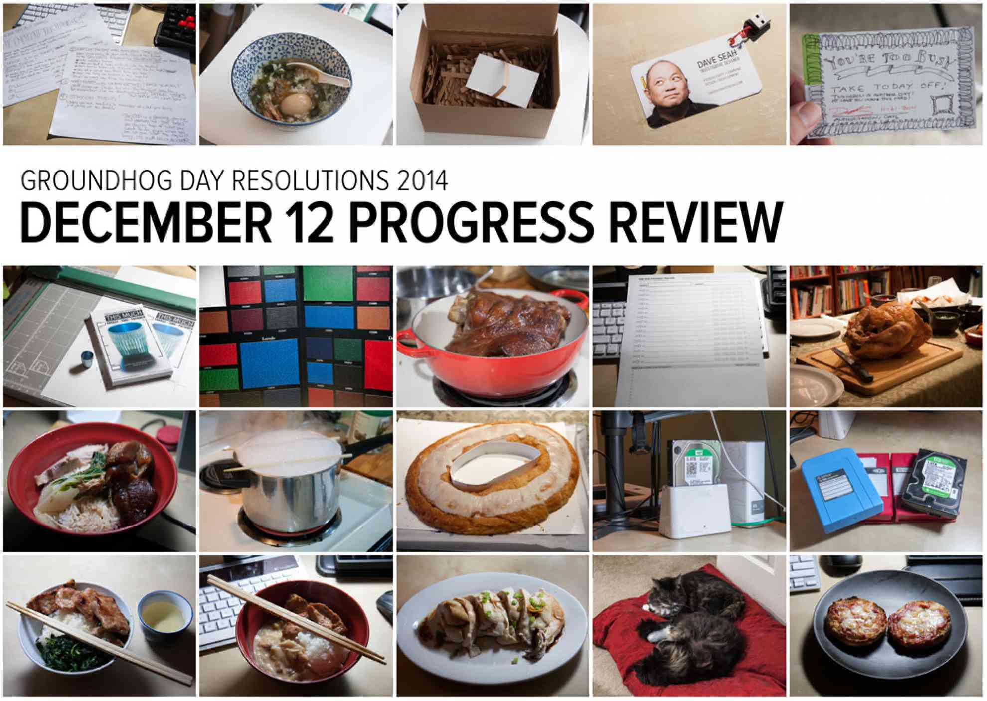 Groundhog Day Resolutions December 12, 2014