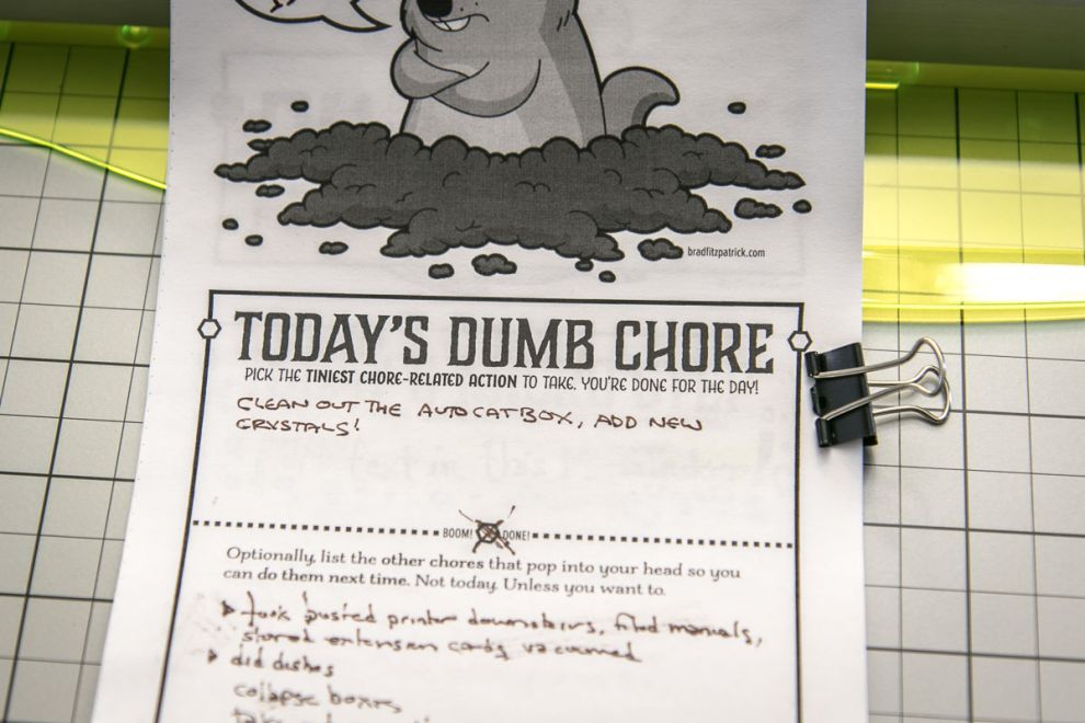 "��""Day 07: Making a Chore Sheet"