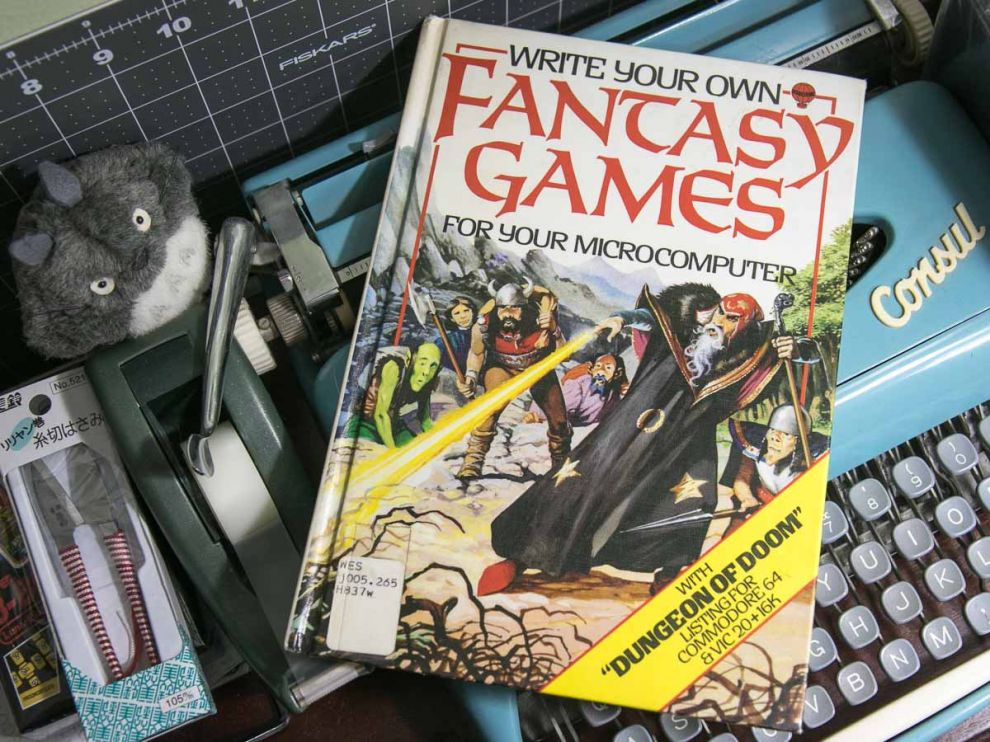 Write Your Own Fantasy Games 1986