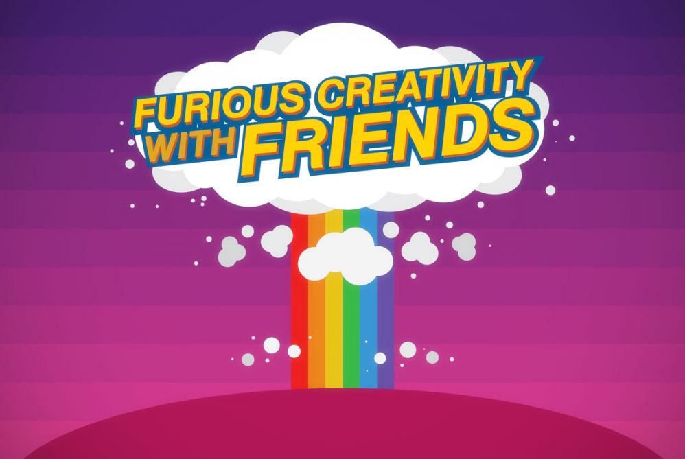 "��""Day 13: Furious Creativity with Friends"