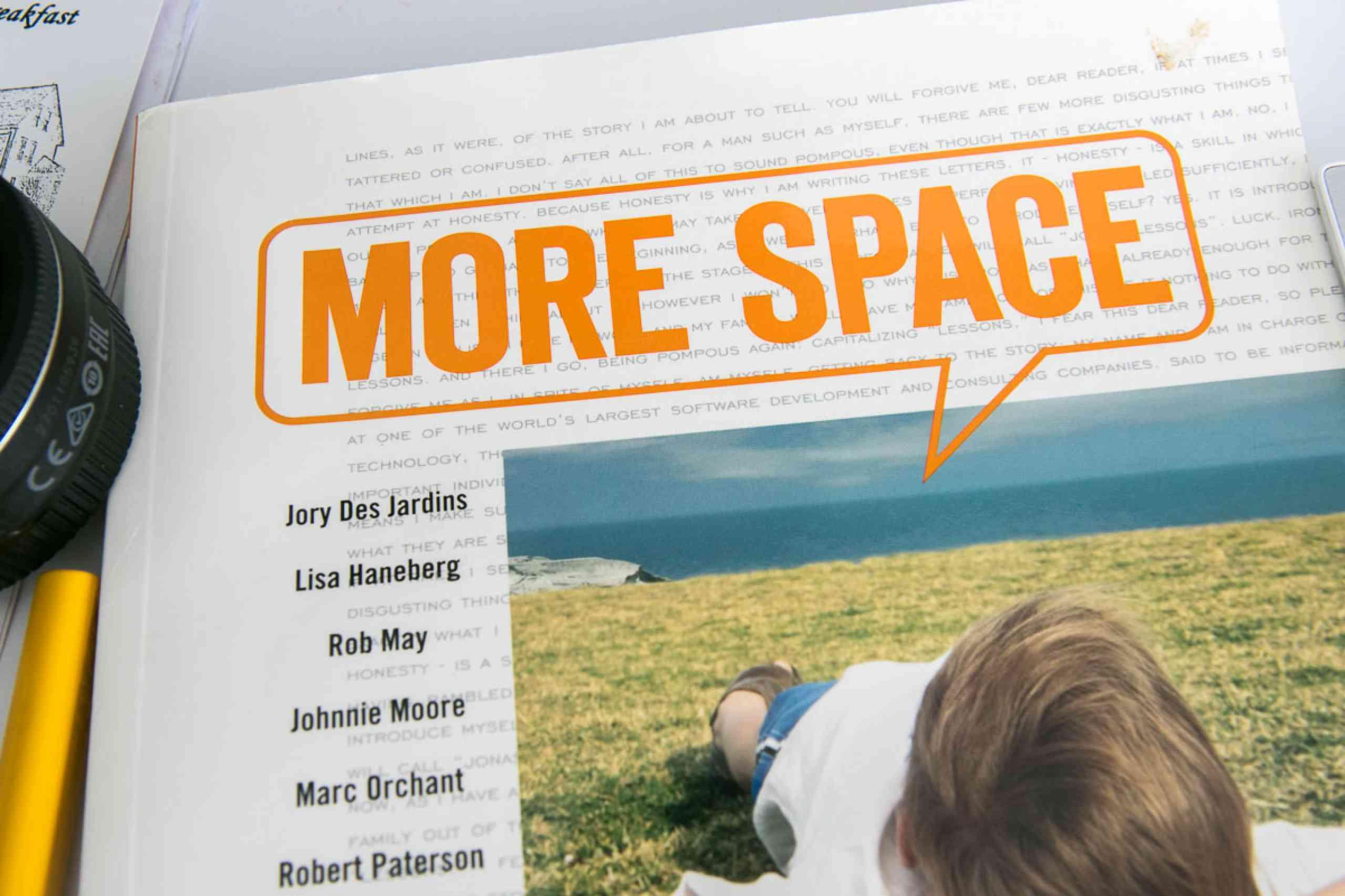 """""""MoreSpace!"""""""