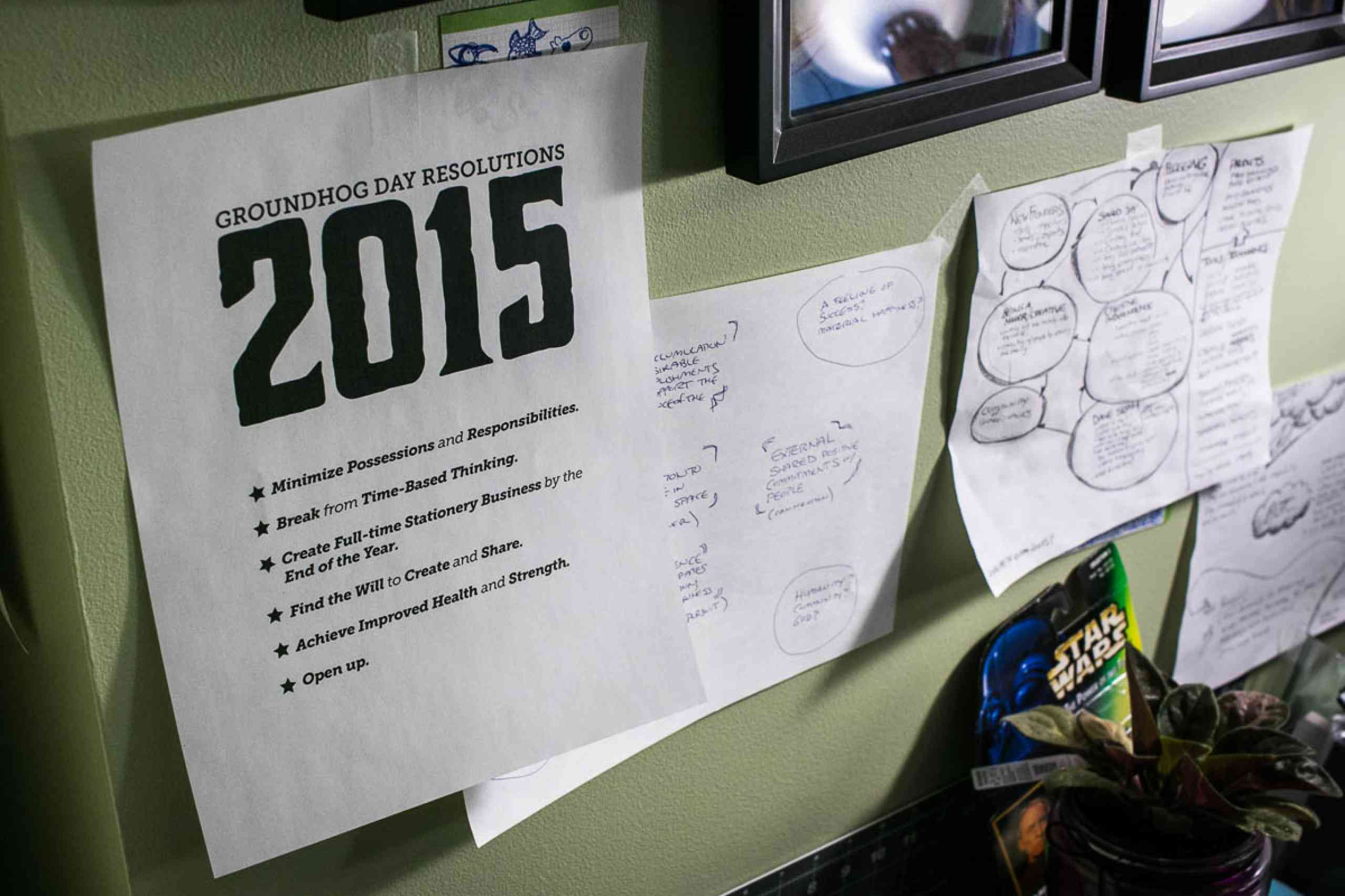 """2015GroundhogDayResolutions"""