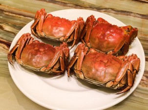 Four Perfect Crabs