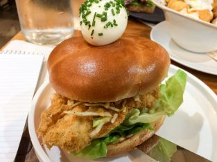 A Fried Chicken Sandwich