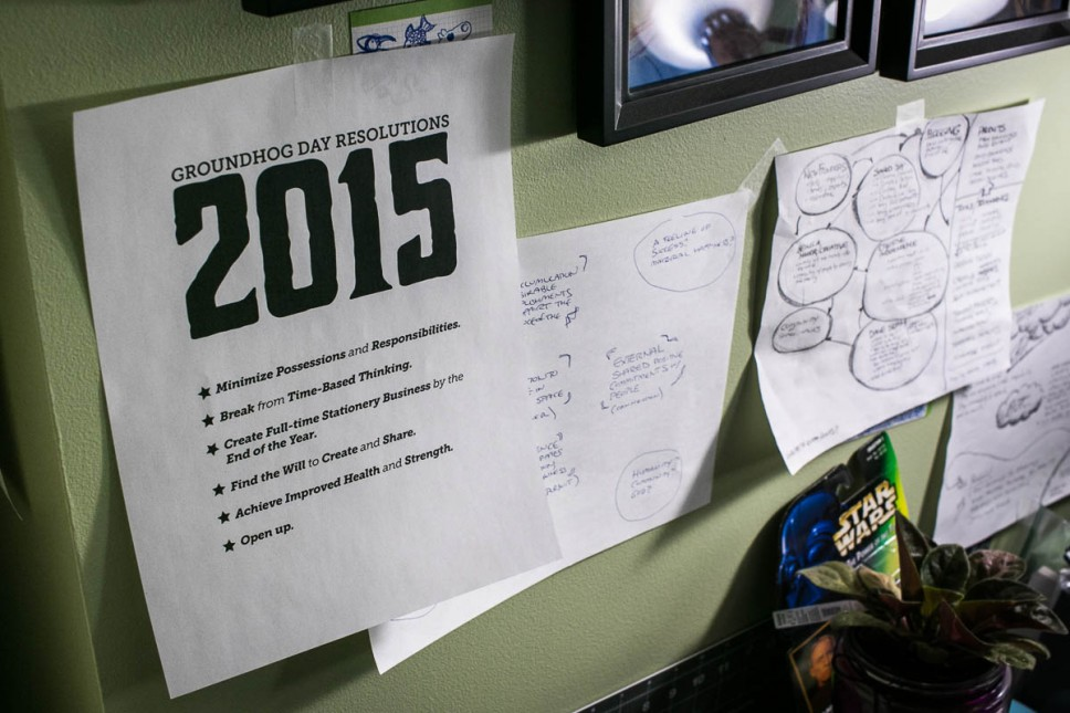 """2015 Groundhog Day Resolutions"""