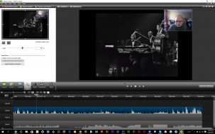 Camtasia Edit is the main editing application, working on your captured screen video