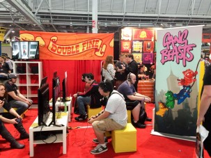 Double Fine Booth