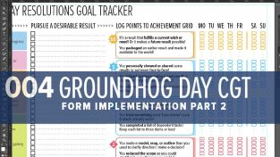 Groundhog Day Resolutions Tracker