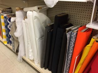 All kinds of utility cloth too for making diffusers, bags, straps...
