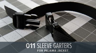 Sleeve Garters made from Webbing