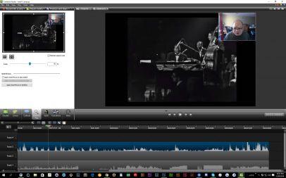 CamtasiaEditisthemaineditingapplication,workingonyourcapturedscreenvideo