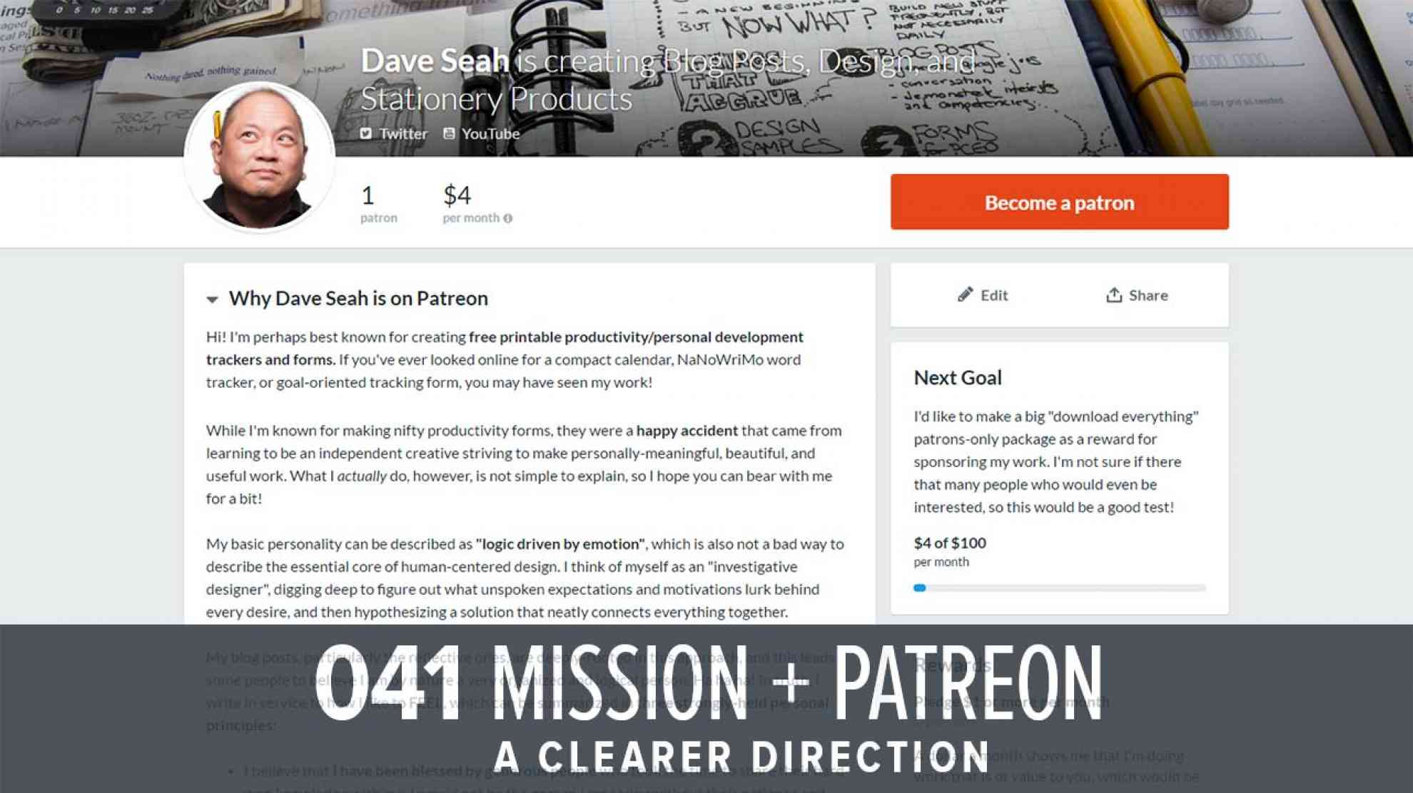 Patreon Page