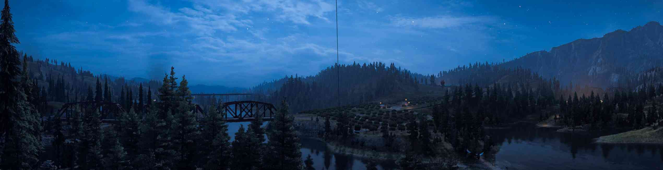 Panoramic View in Farcry 5