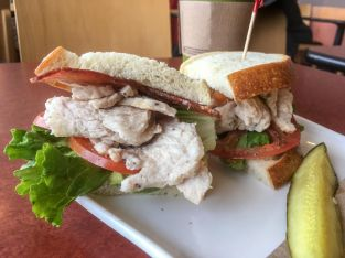 Panera Turkey Avocado BLT