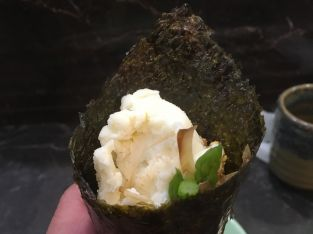Potato Salad Hand Roll