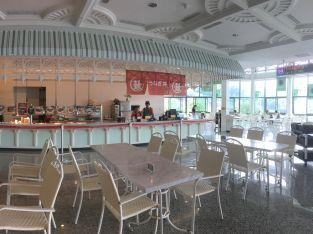 Inside the food court