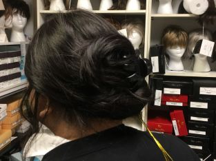 Visit to Wig Fitting