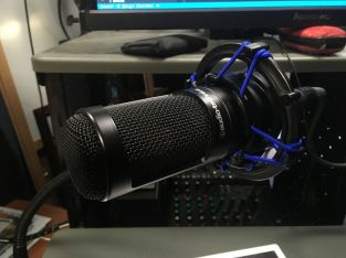 Microphone shock mount replaced