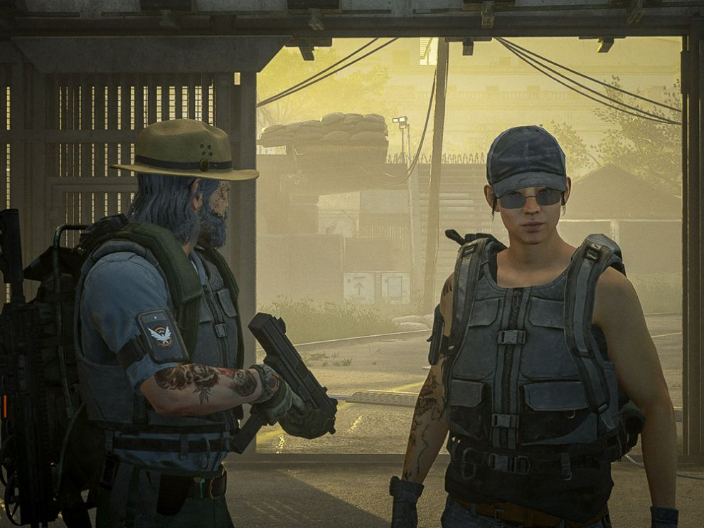 Looking back to look forward (screenshot from 'The Division 2'