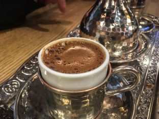 Turkish coffee from Matbah