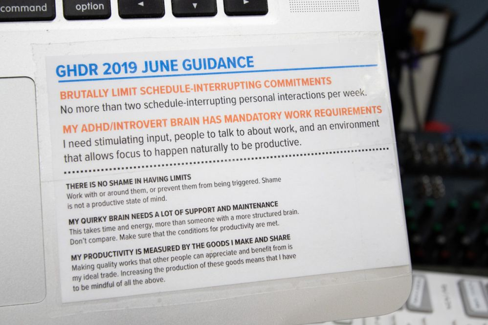 """June GHDR Guidance"""