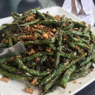 Dry-cookedStringBeans