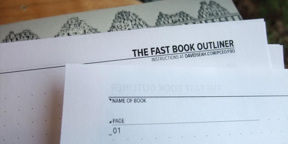 """Fast Book Outliner"""