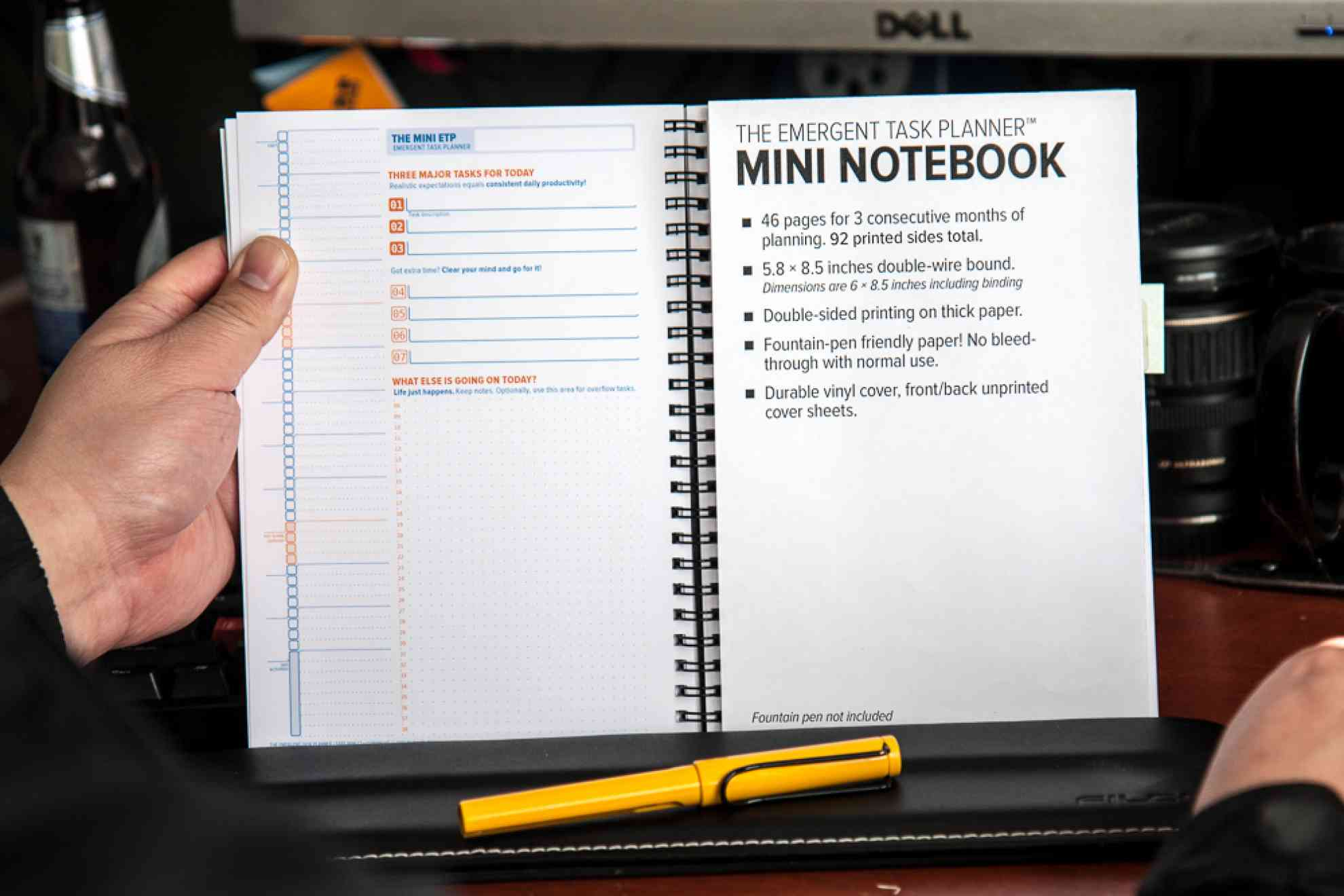 The Emergent Task Planner Notebook