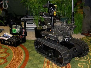 Weaponized Robots