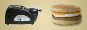 Behold! The Egg and Muffin Toaster