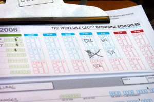 The Printable CEO™ VII: Resource Time Tracking