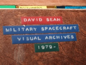 Spacecraft Drawings 1979-1989