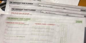 Emergent Task Planner (Free Version) 2009 Updates