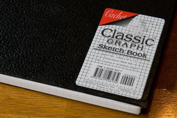 Cachet Classic Graph Sketch Book