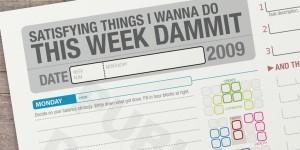 The Printable CEO VIII: Day Grid Balancer