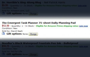 Emergent Task Planner Pad V2 Now on Sale at Amazon!